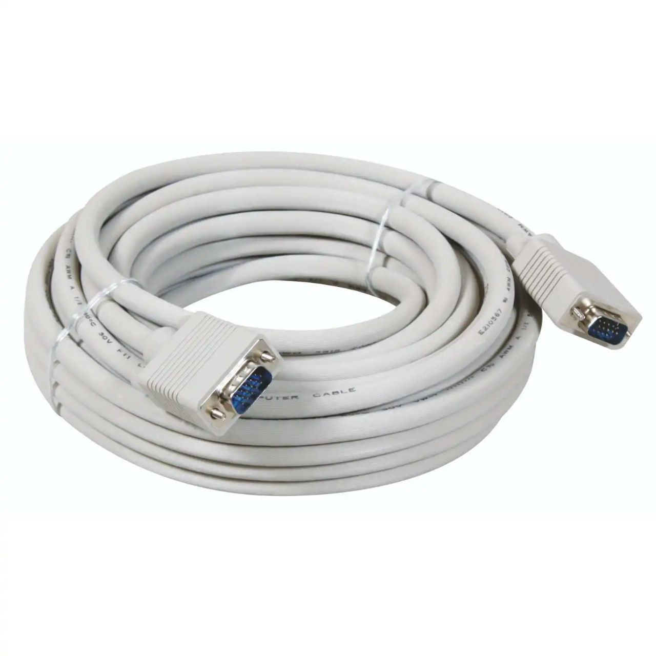 Kabel Vga 3m 3 Meter M Digital Cable Male To Od 8mm 20m